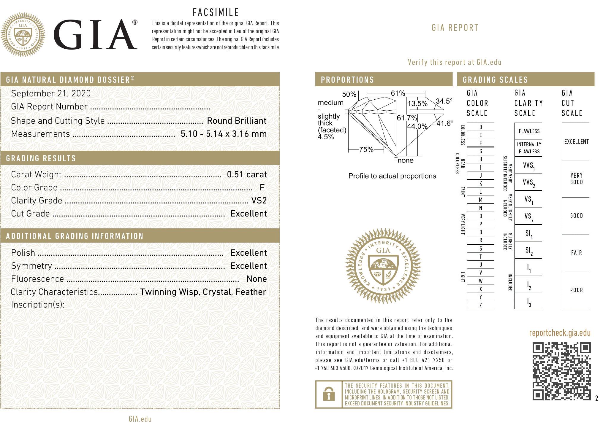 Round Brilliant Diamond Solitaire Pendant in Platinum | Kwiat
